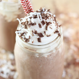 Almond Coconut Mocha Protein Smoothie