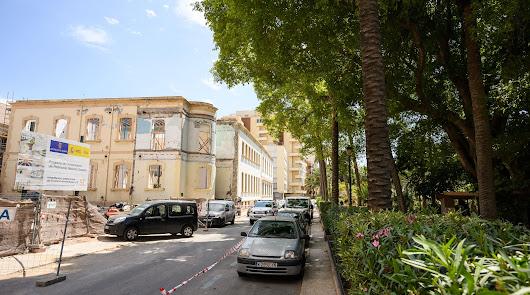 Entorno del antiguo Hospital Provincial de Santa María Magdalena que el Ayuntamiento quiere mejorar