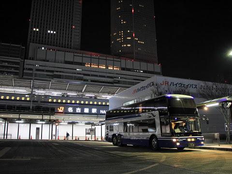JR東海バス「ドリームなごや1号」 ・918_15 名古屋駅到着_02