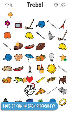 Find objects - screenshot