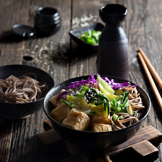 Japanese Noodles With Bok Choy And Tofu Recipes