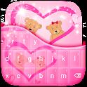 Pink Love Keyboard Free icon