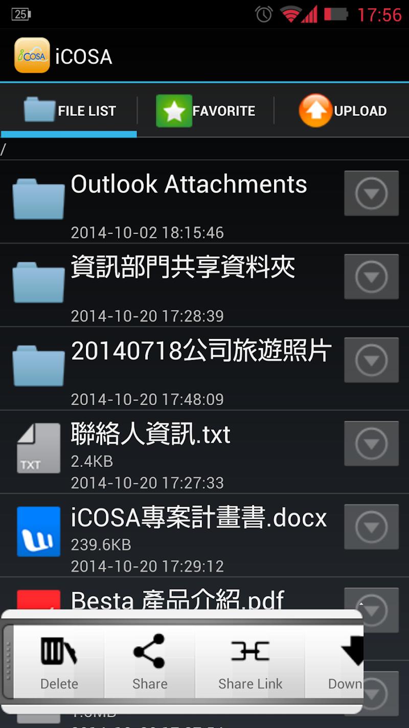 Скриншот iCOSA