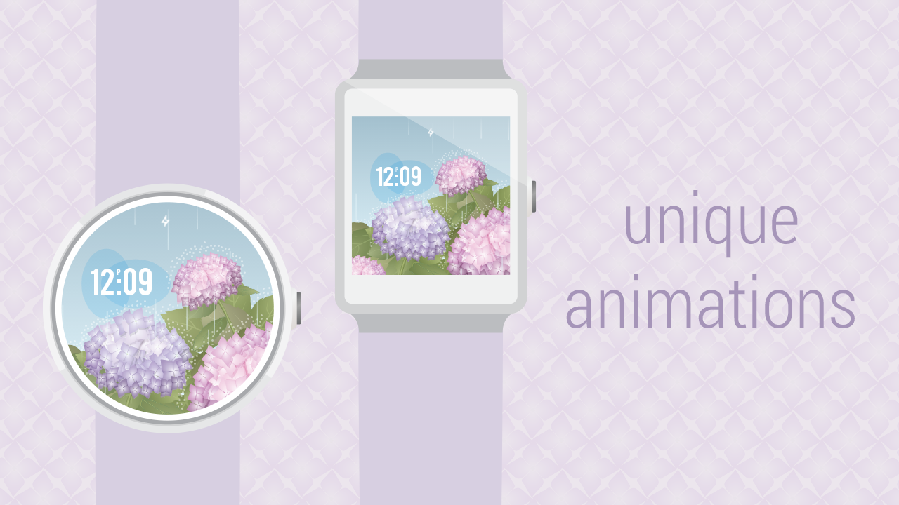 Spring Collection Watch Face- screenshot