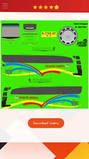 Livery Bussid HD Complete 1.4 screenshots 4