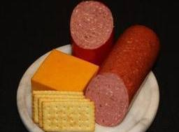Summer Sausage Snack Platter Recipe