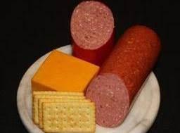 Summer Sausage Snack Platter