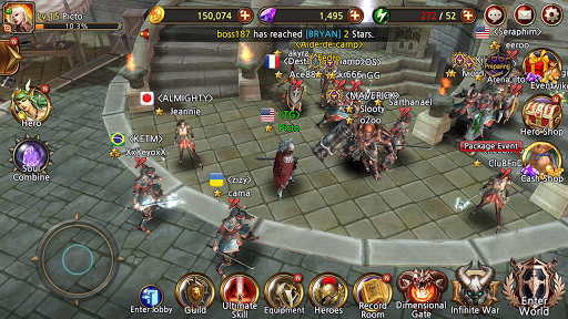 Team Guardian : legend of 23 heroes 2.2.1 screenshots 1