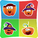 Halloween Memory Game for Kids icon