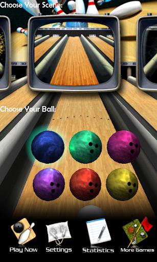 3D Bowling  captures d'u00e9cran 1