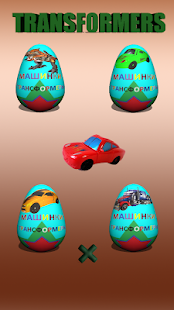 Eggs Transformers Cars - náhled