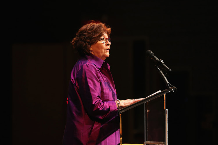 Louise Arbour speaks onstage at the Center for Reproductive Rights 2014 Gala.