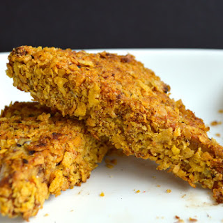 Cornflake Crusted Tempeh Steaks