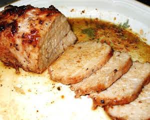 Foolproof Roasted Pork Tenderloin
