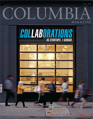 Columbia Magazine Cover Fall 2014