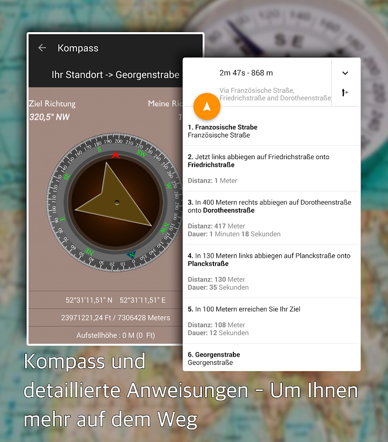GPS Route Fahren Android Apps Auf Google Play