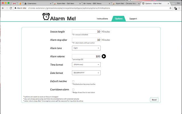 Alarm Me!