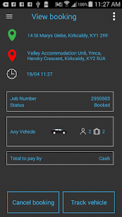 Taxi Central Booking App- screenshot thumbnail
