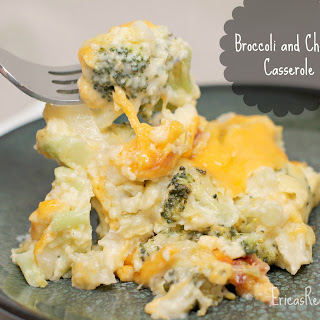 Broccoli and Cheese Casserole .