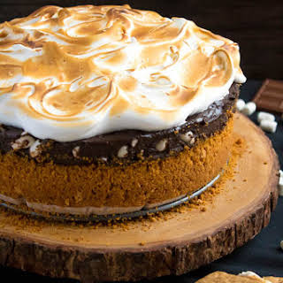 S'mores Mississippi Mud Pie.