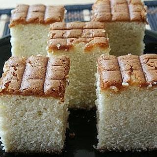 Castella Cake (Japanese Honey Sponge Cake).