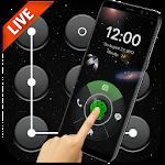 3D Outer Space Fingerprint Locker Icon