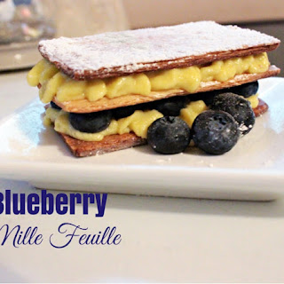 Blueberry Mille Feuille