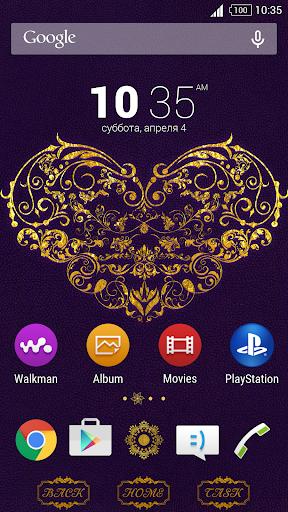 Theme - Golden Heart