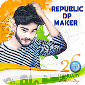 Republic Day Photo Frame , Sticker 2018