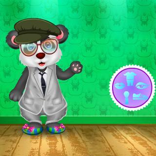 Messy Panda Care - Girl Games