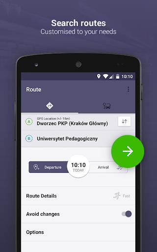 Jakdojade: public transport 4.1.14 screenshots n 1