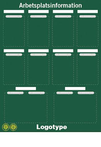 API-tavla med whiteboardfunktion + penna, 1300x1000mm