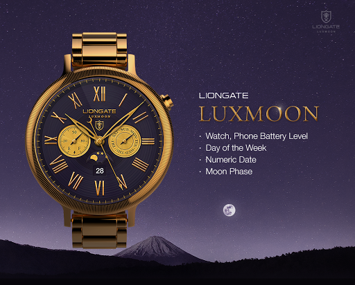 Luxmoon watchface by Liongate