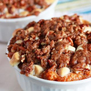 Coconut-Bourbon Sweet Potato Casserole Recipe