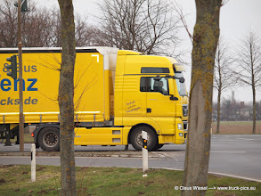 Photo: TGX Fahrschule .-)  ------> click for more: www.truck-pics.eu