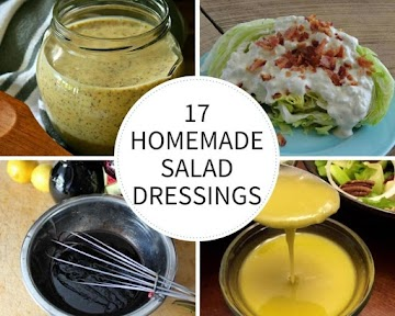 17 Homemade Salad Dressings Recipe