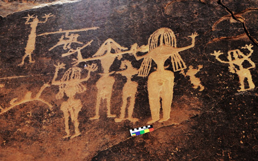 Rock Art in Saudi Arabia Middle East