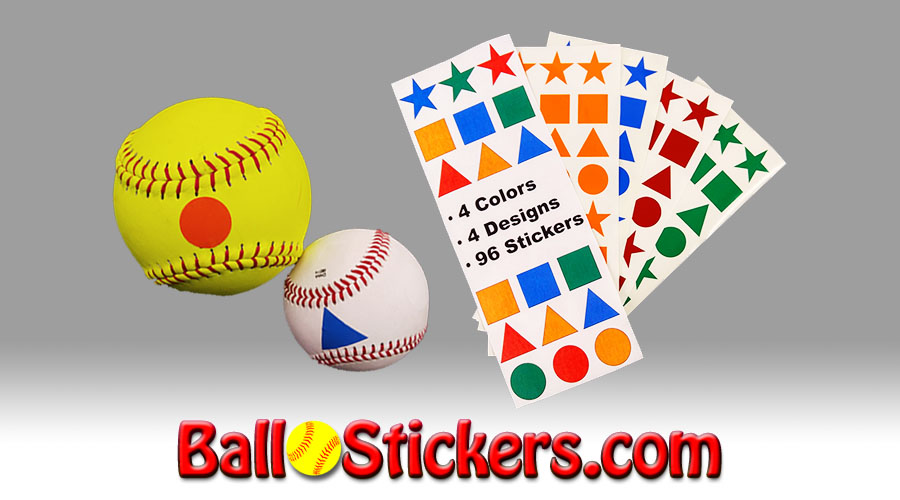 Ball Stickers Softball Hitting Aid