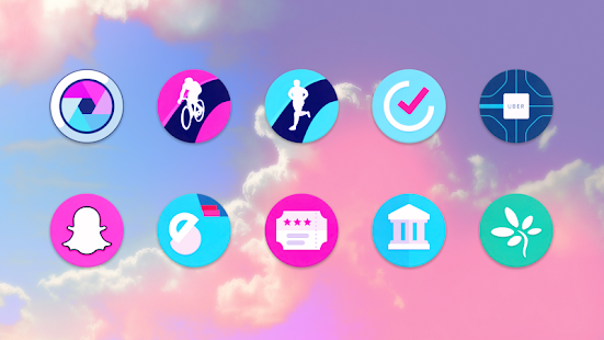 UNICORN ROUNDIES ICON PACK Screenshot