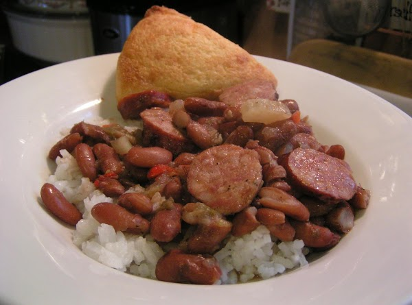 Louisiana Red Beans And Rice With Adouille Sausage Recipe