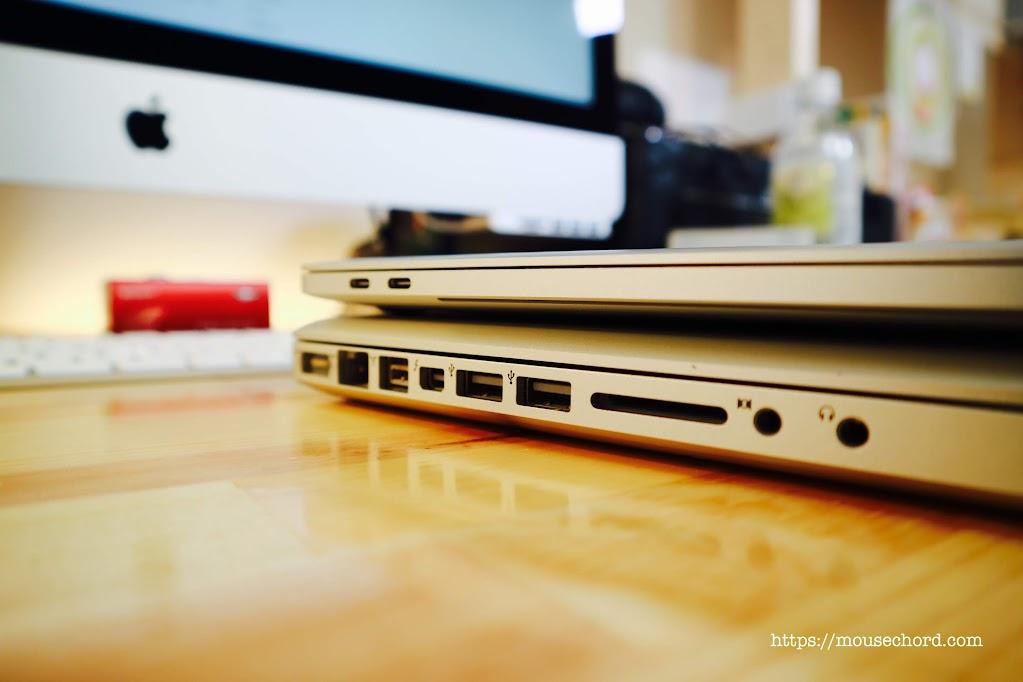 MacbookPro15インチ2019モデル購入Review