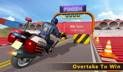Police Bike Mega Ramp Impossible Bike Stunt Games painmod.com screenshots 21