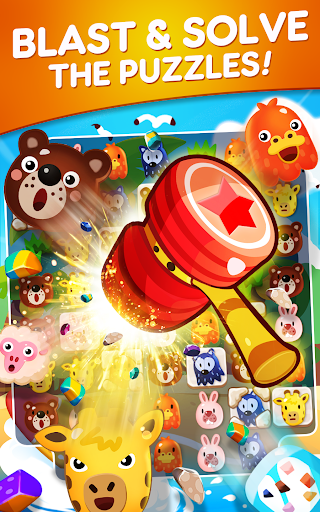 POKOPOKO The Match 3 Puzzle apkpoly screenshots 4