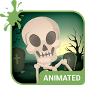 Skeleton Dance Keyboard + Live Wallpaper icon