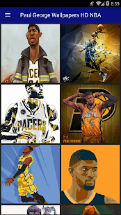 Paul George Wallpapers HD NBA - náhled