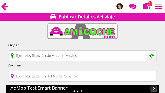 Amicoche - Compartir coche- screenshot thumbnail