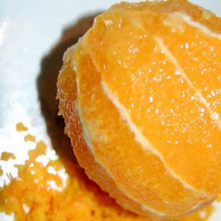 Sticky Orange Muffins