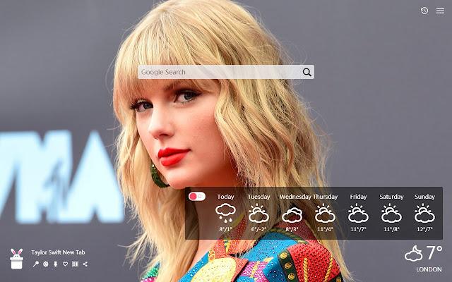 Taylor Swift New Tab, Wallpapers HD
