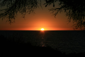 Photo: Sonnenuntergang Leeman