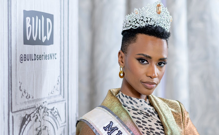 If staying true to yourself was a person, it would be Miss Universe Zozibini Tunzi.